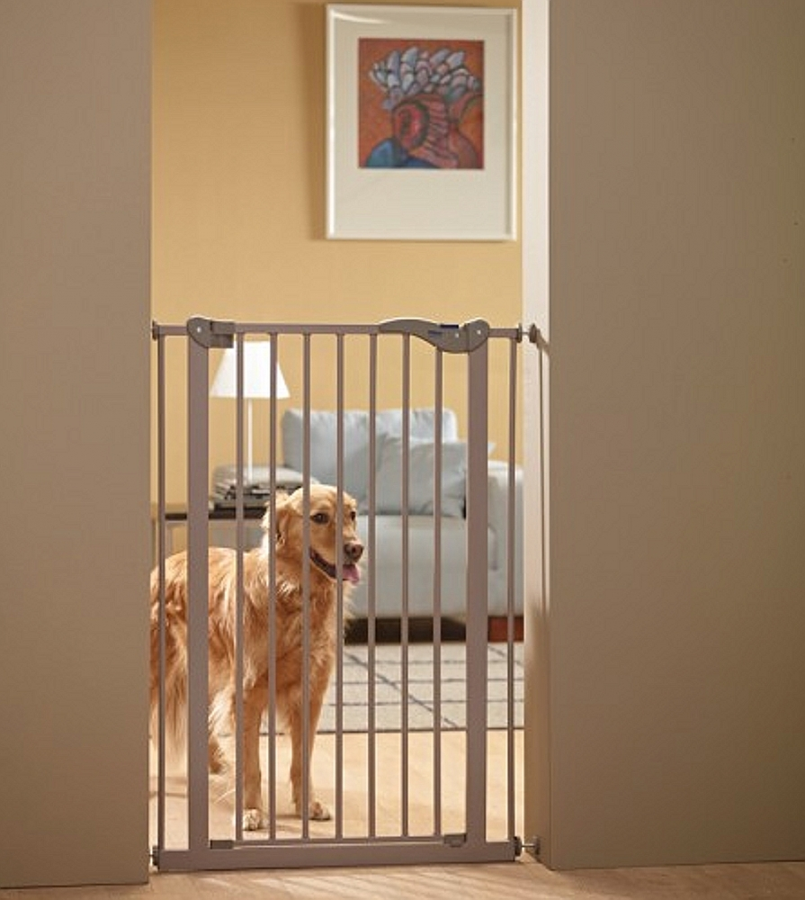schutzgitter absperrgitter dog barrier h he 107 cm breite 75 8. Black Bedroom Furniture Sets. Home Design Ideas